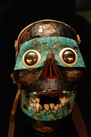 Aztec Skull depicting Tezcatlipoca, from the British Museum.