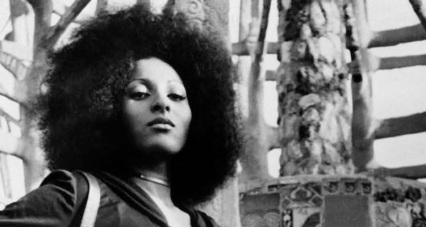 This image of Pam Grier in front of Watts Towers makes me a bit homesick.